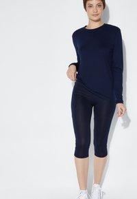 Tezenis - Leggings - Trousers - blu admiral - 1