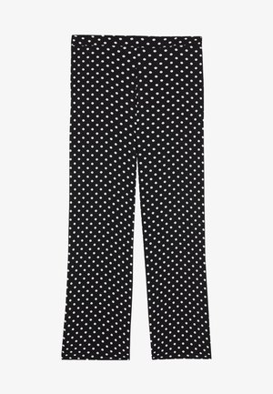 Trousers - nero st.pois