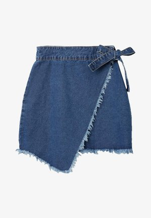 Wrap skirt - blu jeans