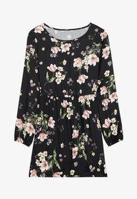 Tezenis - MIT SCHNÜRUNG - Day dress - nero st.floral bouquet - 3