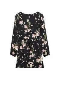 Tezenis - MIT SCHNÜRUNG - Day dress - nero st.floral bouquet - 4
