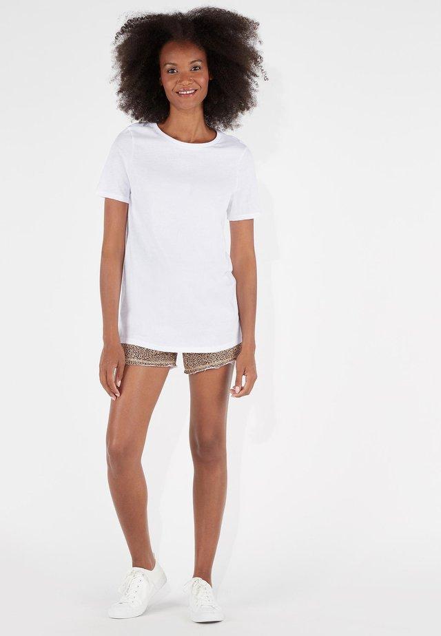 BASIC - Basic T-shirt - bianco
