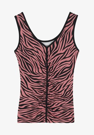 UND RAFFUNG - Top - st.summer tiger/nero