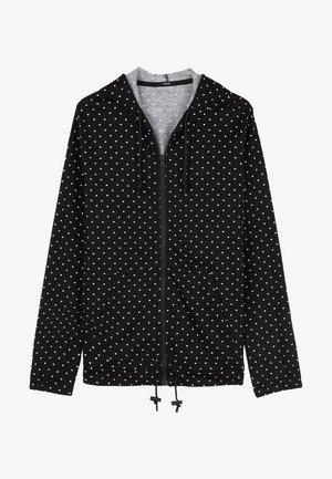 Zip-up hoodie - nero st.microcuore