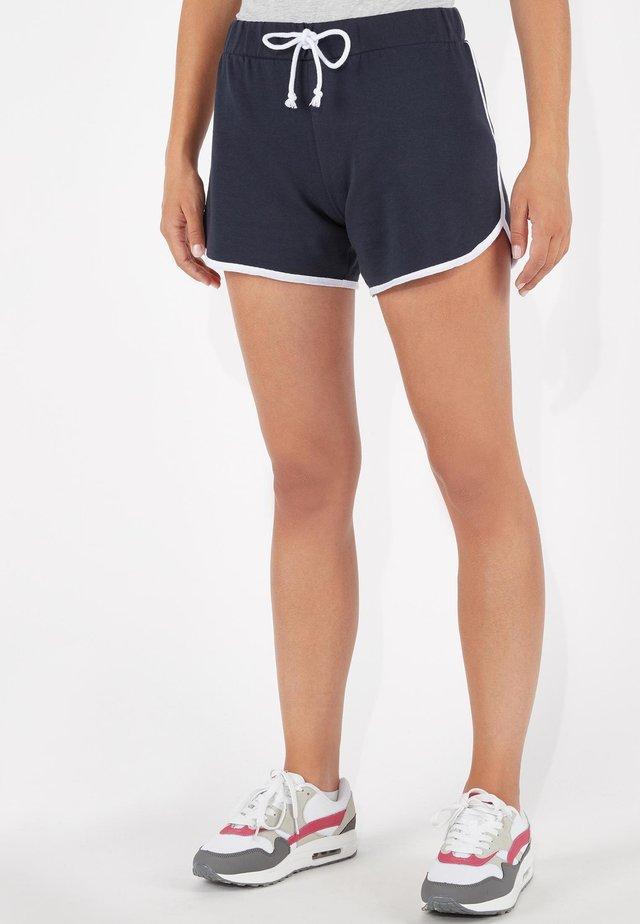 Shorts - blu cielo/bianco