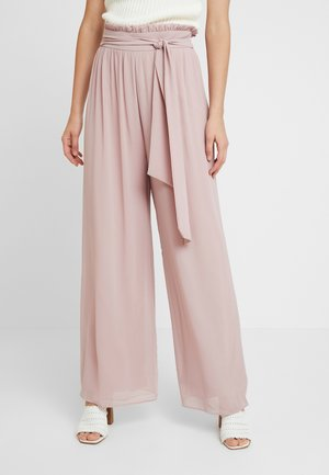 JOANA PANTS - Kalhoty - pale mauve