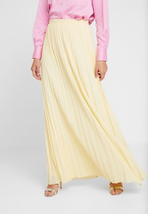SKIRT PLEATED - Vekkihame - pastel yellow