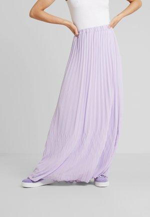 NESJEA PLEATED SKIRT - Plisovaná sukně - lilac