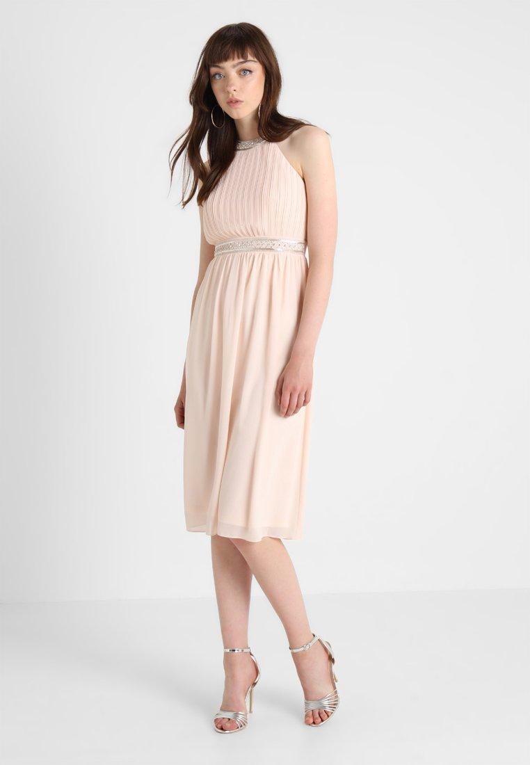 TFNC - HALE MIDI DRESS - Cocktail dress / Party dress - nude