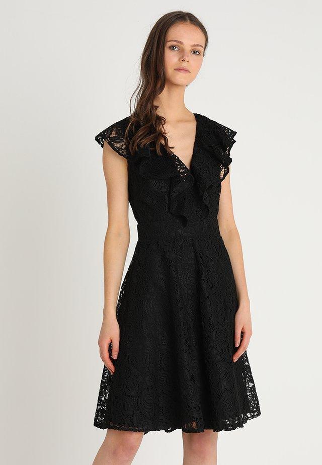 NEON DRESS - Cocktailkleid/festliches Kleid - black