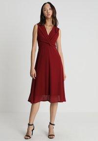 TFNC - WINONA DRESS - Robe de soirée - burgundy - 1