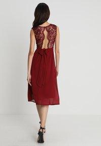 TFNC - WINONA DRESS - Robe de soirée - burgundy - 2