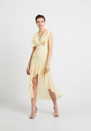 NISHA MAXI - Ballkleid - pastel yellow