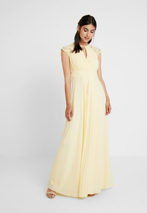 NEITH MAXI - Abito da sera - pastel yellow