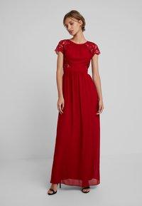 TFNC - PEARLY MAXI - Společenské šaty - burgundy - 0