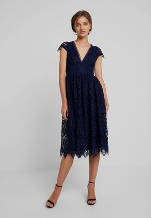 ANORA MIDI DRESS - Cocktailkjole - dark blue