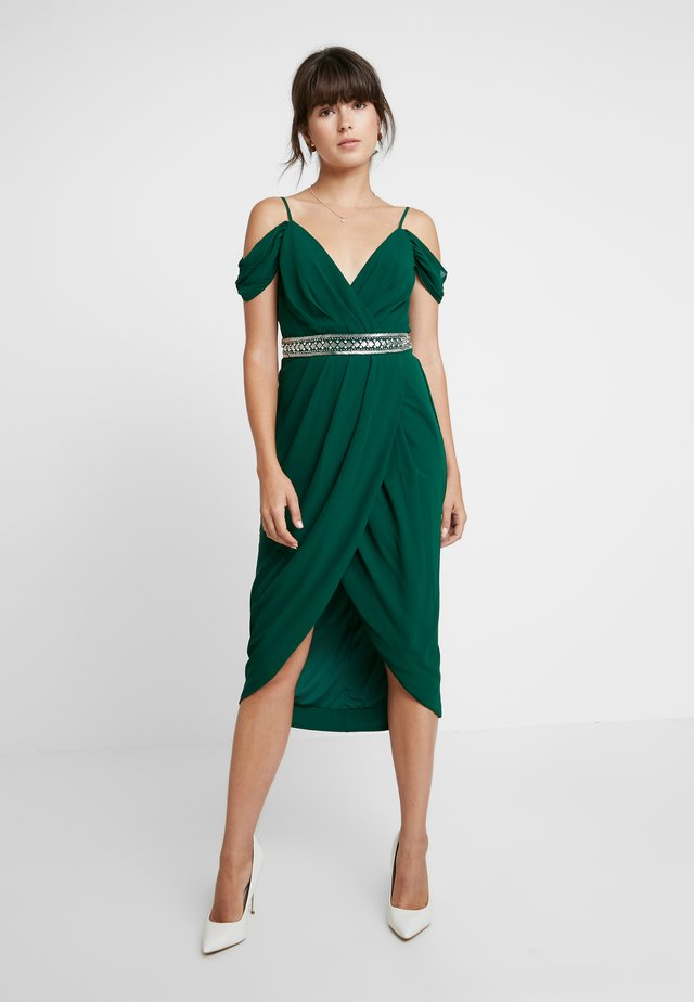 WILLOW DRESS - Cocktailkjole - jade green