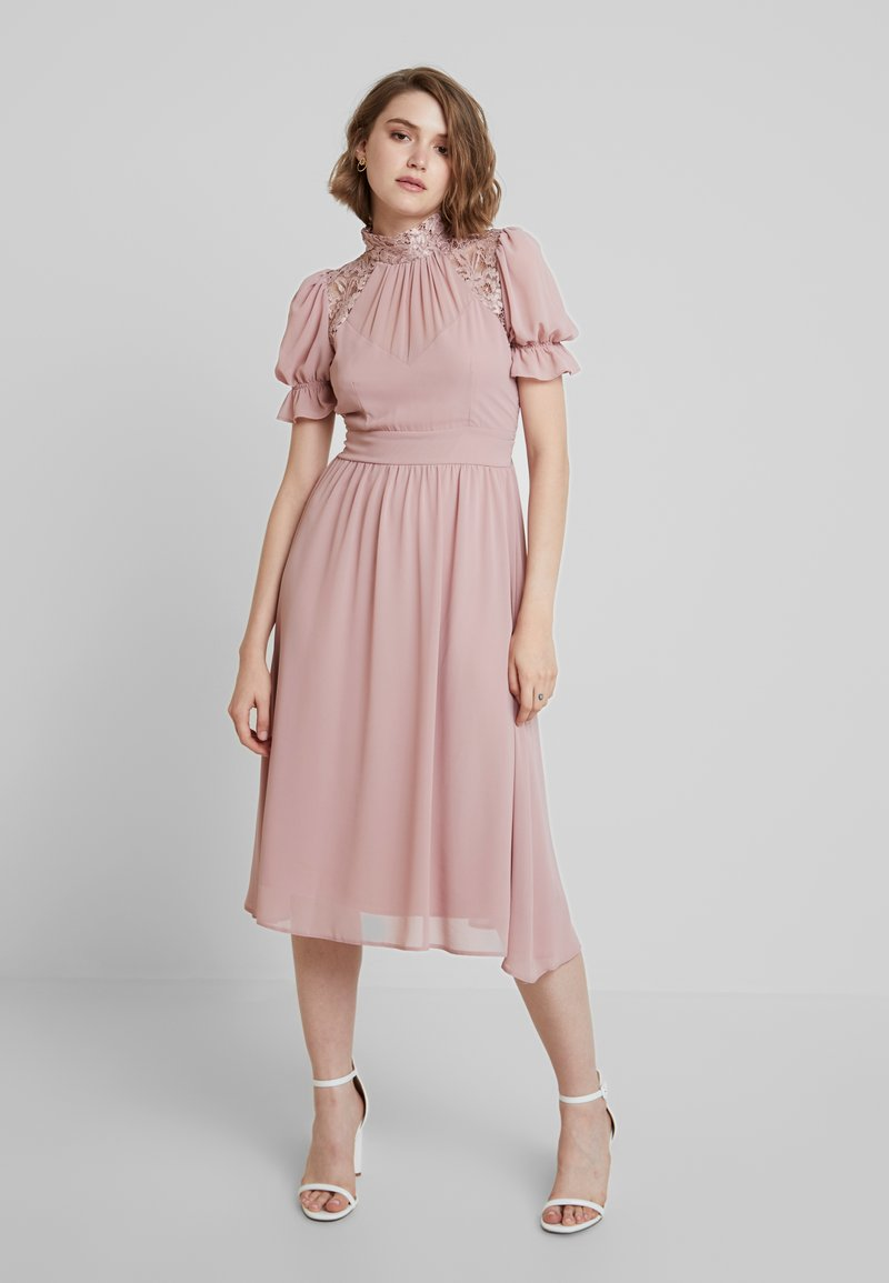 TFNC - PETTY MIDI DRESS - Cocktail dress / Party dress - pale mauve