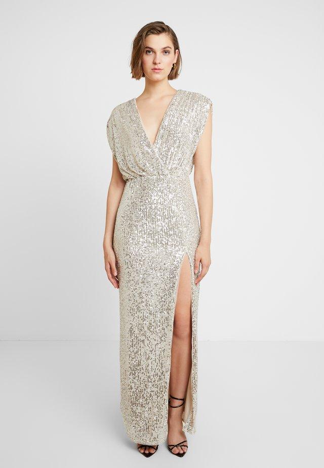 RINAH  - Ballkleid - silver/nude