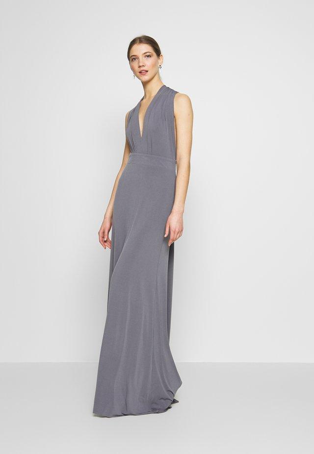 MULTI WAY MAXI - Společenské šaty - grey