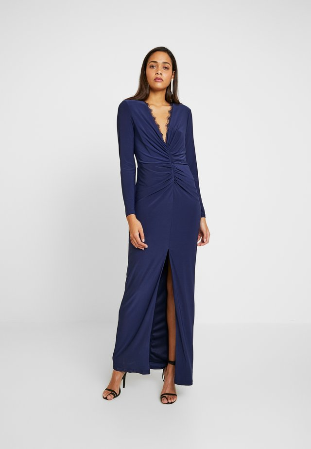 IZARO MAXI DRESS - Occasion wear - navy