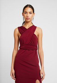 TFNC - MULTI WAY MIDI BODYCON - Juhlamekko - burgundy