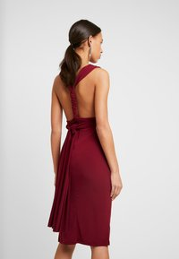 TFNC - MULTI WAY MIDI BODYCON - Juhlamekko - burgundy - 8