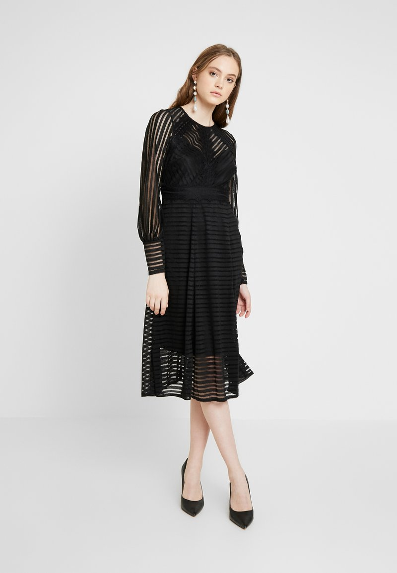 TFNC - EVIE MIDI - Cocktailjurk - black