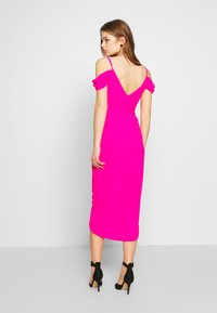 TFNC - WILLOW MIDI DRESS - Galajurk - fuschia - 2