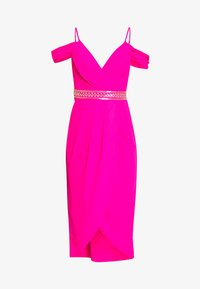 TFNC - WILLOW MIDI DRESS - Galajurk - fuschia - 4