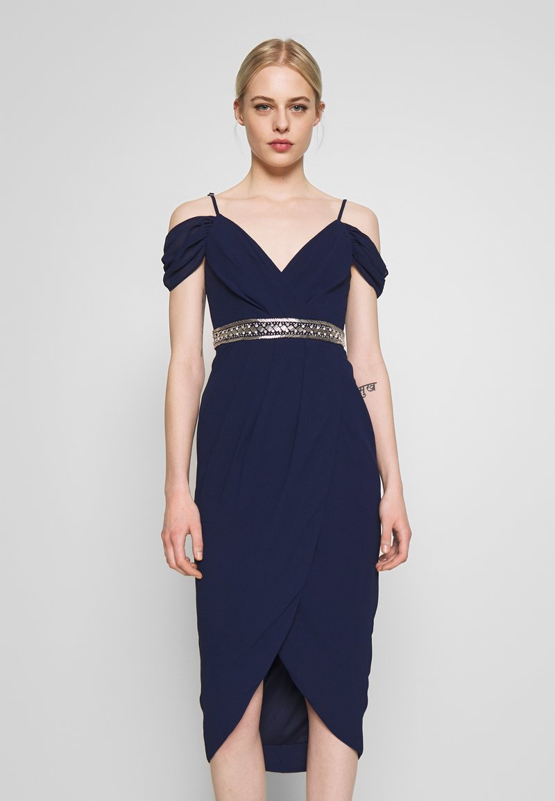 TFNC - WILLOW MIDI DRESS - Occasion wear - navy