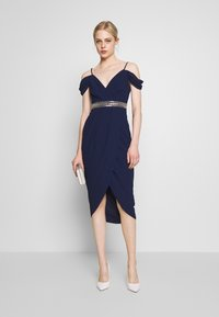 TFNC - WILLOW MIDI DRESS - Occasion wear - navy - 1