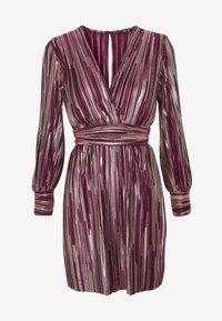 TFNC - ZOULA DRESS - Koktejlové šaty/ šaty na párty - burgundy/gold - 3