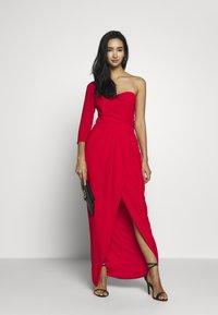 TFNC - HESPER MAXI WRAP - Suknia balowa - firy red - 1