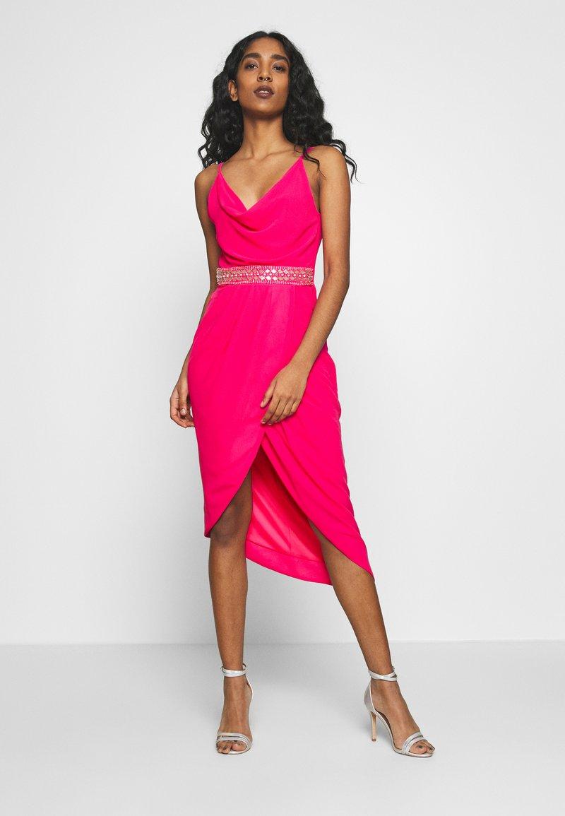 TFNC - LEXIE DRESS - Vestido de cóctel - fuschia