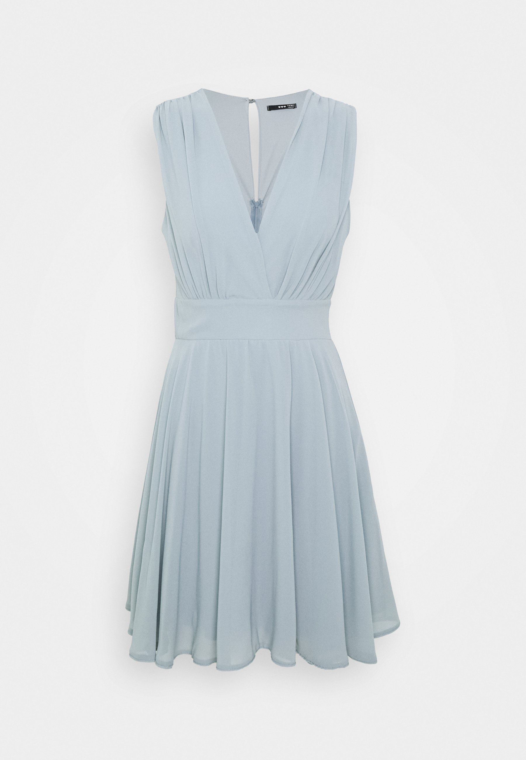 NORDI DRESS - Cocktail dress / Party dress - grey blue