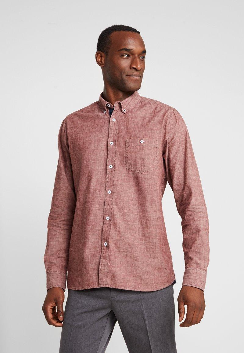 Tiffosi - DELANEY - Camisa -  cordovan
