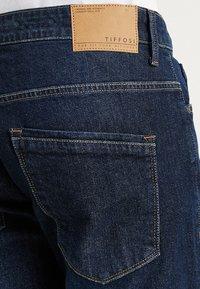 Tiffosi - BORRIS - Jeansshort - dark-blue denim - 5