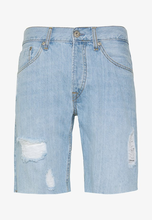 HARROW - Denim shorts - light blue
