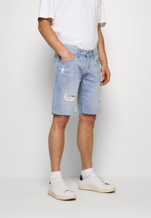 HARROW - Shorts di jeans - light blue
