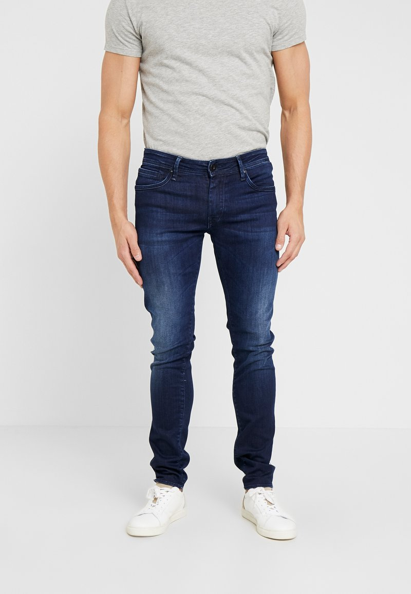 Tiffosi - LIAM - Slim fit jeans - dark-blue denim