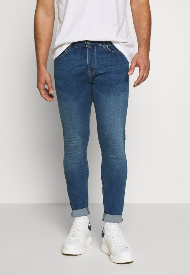 HARRY - Slim fit -farkut - blue denim