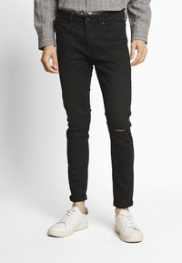 Tiffosi - HARRY - Džíny Slim Fit - black - 0
