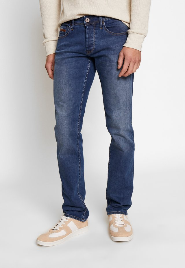 JOHN - Džíny Slim Fit - blue denim