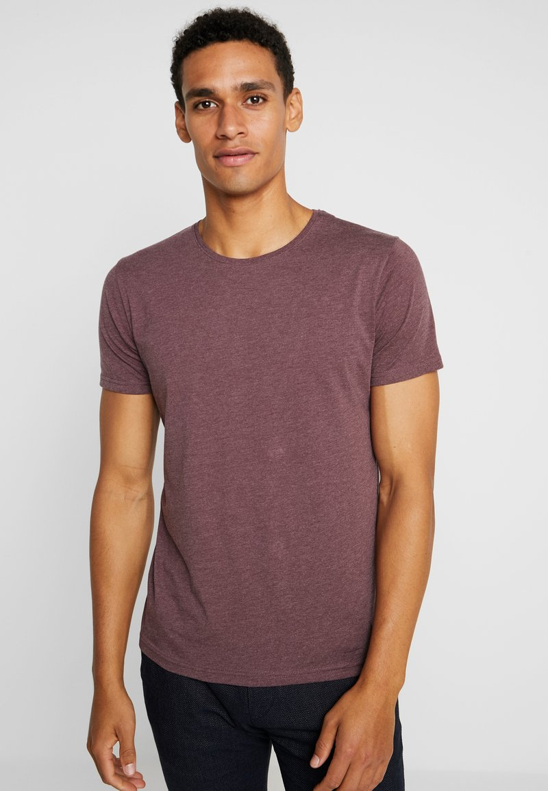 Tiffosi - BASIL - T-Shirt basic - red
