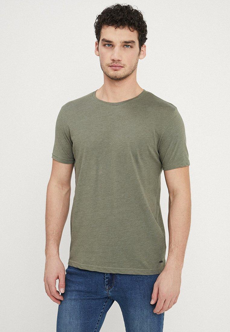 Tiffosi - BASIL - T-shirts basic - green