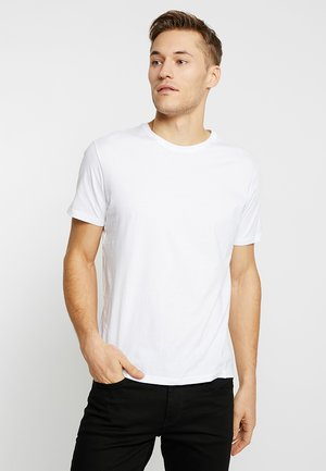 BARTON - T-shirt basique - white