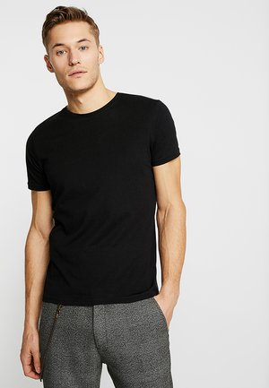 BARTON - T-shirt basic - black