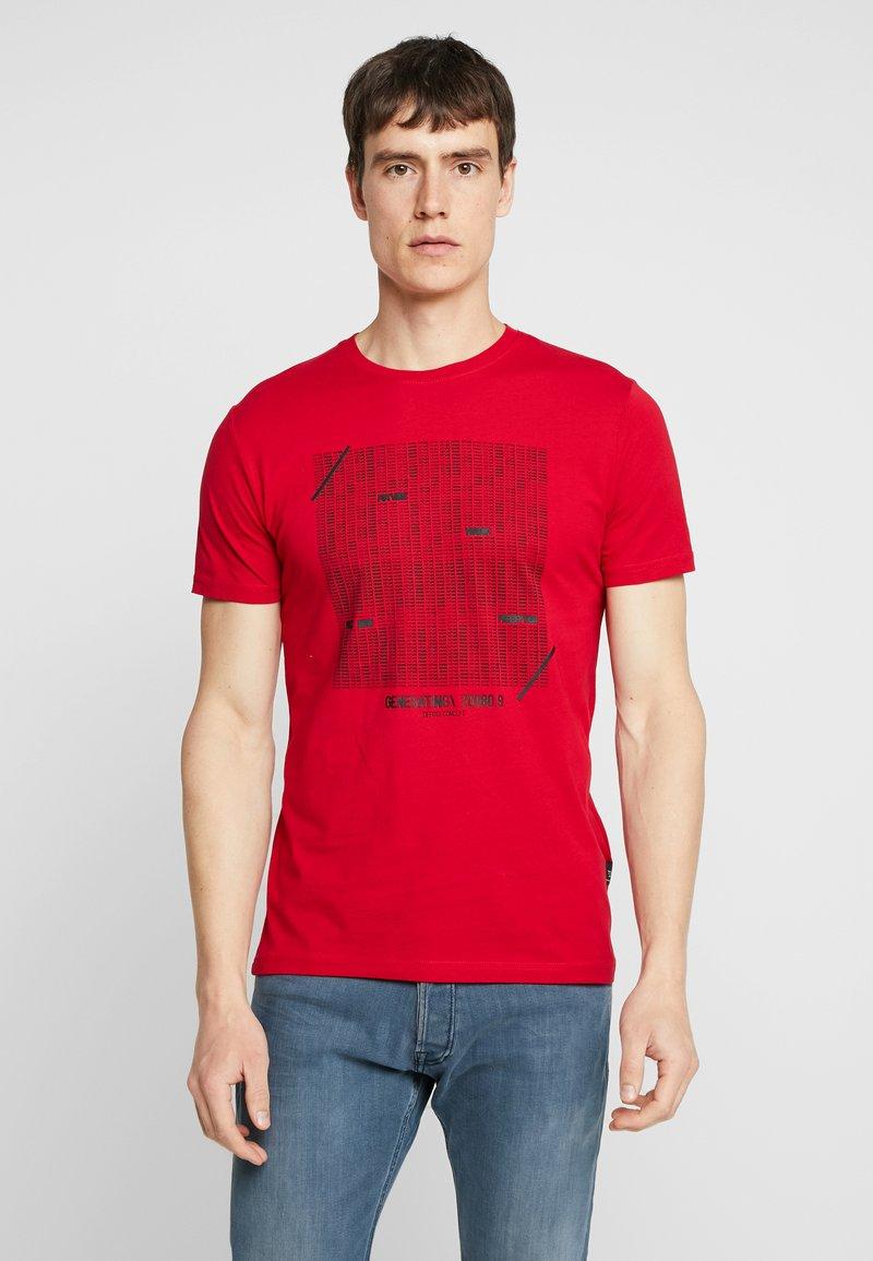Tiffosi - GIBSON - T-Shirt print - red