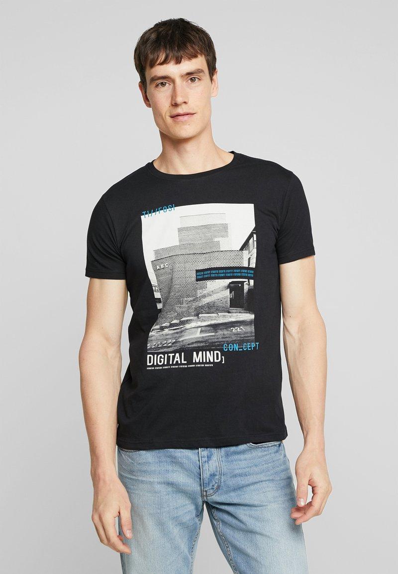 Tiffosi - HAISE - T-Shirt print - black